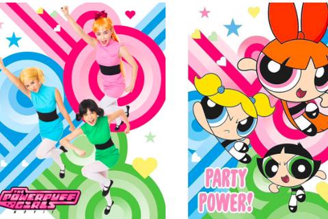 Bộ 3 hot girl hoá trang siêu nhân chơi Halloween