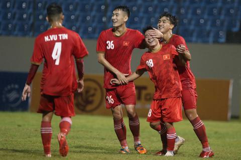 U21 Việt Nam đánh bại U19 FK Sarajevo tại giải U21 quốc tế
