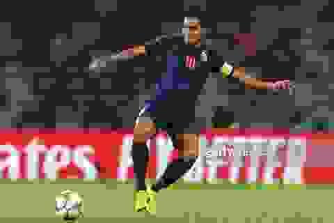 Teerasil Dangda tỏ ra thận trọng trước cuộc đối đầu với đội tuyển Việt Nam