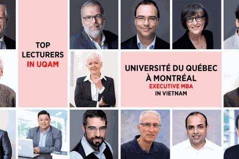 Học chương trình thạc sĩ điều hành cấp cao (UQAM EMBA) của trường top 6 Canada