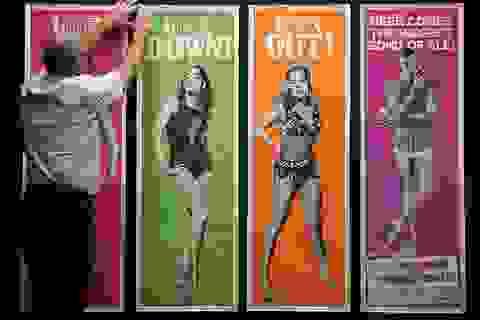 """500 bức poster phim """"Điệp viên 007"""" có giá 7,5 tỷ đồng"""