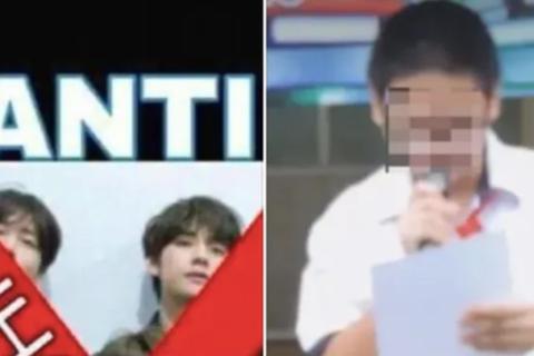 """Công khai clip học sinh xin lỗi vì """"nhục mạ"""" nhóm nhạc Hàn Quốc: Hiệu phó nhận mình nóng vội"""
