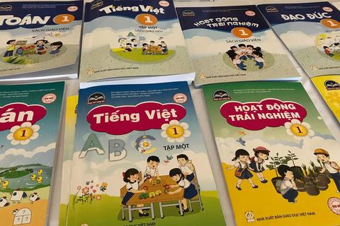 Công bố sách giáo khoa lớp 1 mới: NXB Giáo dục chiếm ưu thế