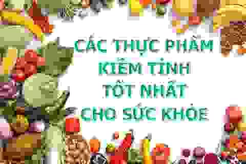 Những thực phẩm giàu kiềm giúp ngăn ngừa hiệu quả béo phì, bệnh tim và ung thư