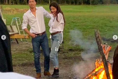 5 tháng sau khi đăng ký kết hôn, vợ chồng Lâm Chí Linh lần đầu lộ ảnh chụp chung