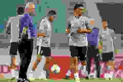 Đội tuyển UAE làm quen thời tiết Hà Nội và mặt sân Mỹ Đình