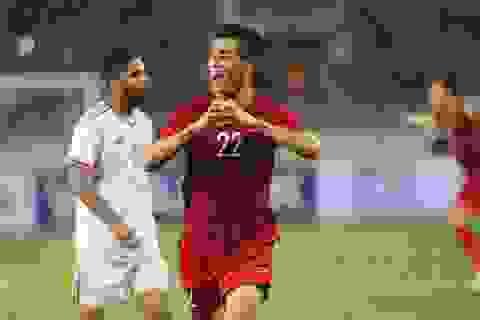 """""""Xé lưới"""" đội tuyển UAE, Tiến Linh ăn mừng đầy cảm xúc"""