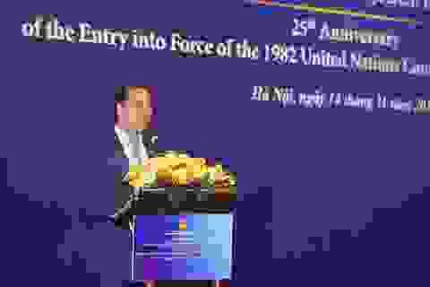 Việt Nam tuân thủ Công ước luật Biển trong giải quyết tranh chấp ở Biển Đông