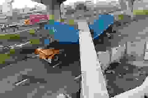 """Lãnh đạo TPHCM thúc sớm kết luận vụ """"dầm cầu cao 4,75m bị container cao 4,2m kéo sập"""""""