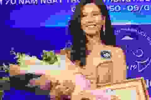 """Thiếu nữ ĐH Hà Nội đăng quang """"Nữ sinh thanh lịch Thủ đô 2019"""""""