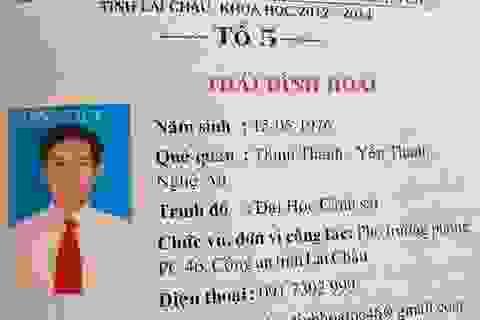 Tước danh hiệu Công an nhân dân Thượng tá dùng bằng giả ở Lai Châu
