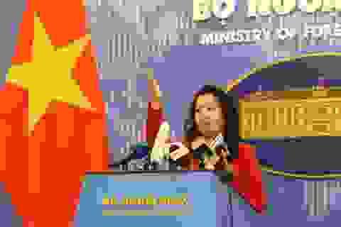 Việt Nam lên tiếng về việc Mỹ cung cấp thêm tàu tuần tra cho Cảnh sát biển