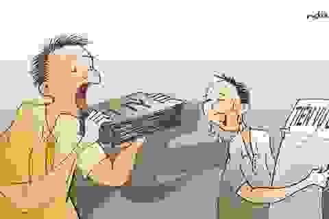 """""""Tiền nhờ đổi điểm"""" hay """"tiền cảm ơn""""? Ôi, tiếng Việt của tôi!"""