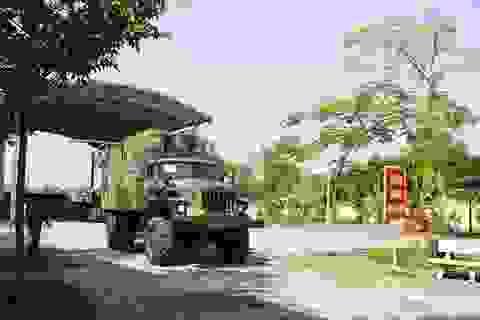Khám phá xe công trình sửa chữa cơ khí tổng hợp của Quân đội Nhân dân Việt Nam
