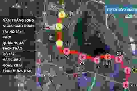 """Hà Nội: """"Choáng váng"""" vì hơn 3.000 tỷ đồng làm 1km đường sắt đô thị"""