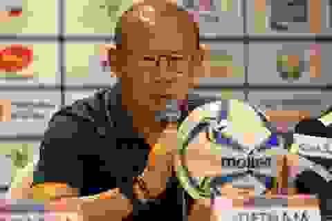 Đồng nghiệp Nishino tới muộn, HLV Park Hang Seo nổi giận trong buổi họp báo