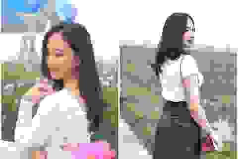 Thiếu nữ xứ Nghệ bất ngờ được dân mạng quan tâm vì nhan sắc khả ái