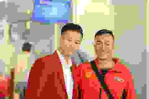 Đoàn thể thao Việt Nam háo hức lên đường dự SEA Games