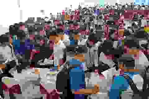Hàng trăm bạn trẻ Kiên Giang tham gia Ngày hội hiến máu