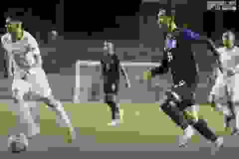 Thắng đậm Timor Leste, U22 Campuchia vươn lên đứng đầu bảng A