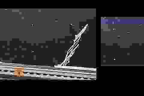 Vật thể bí ẩn bất ngờ xuất hiện sau lưng phi hành gia trên trạm ISS