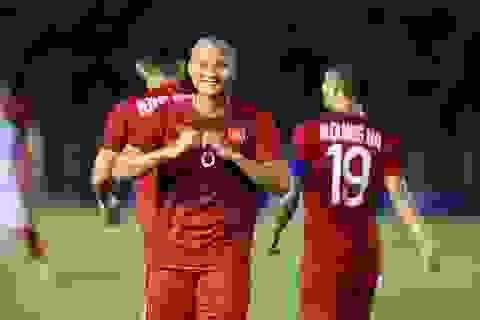 Trọng Hoàng san bằng kỷ lục ghi bàn của Huỳnh Đức và Thanh Bình