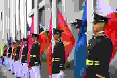 Xúc động lễ thượng cờ của đoàn thể thao Việt Nam tại SEA Games 30