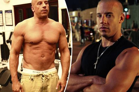Vin Diesel đăng ảnh khoe cơ bắp ở tuổi 52