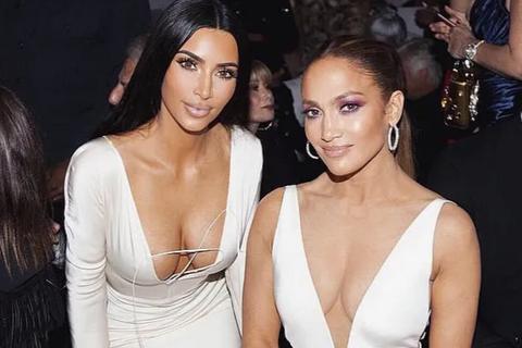 Jennifer Lopez và Kim Kardashian ngày càng thân thiết