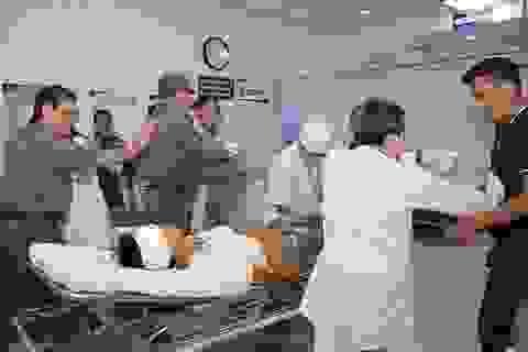Tóm gọn nhóm giang hồ truy sát nhau trong bệnh viện