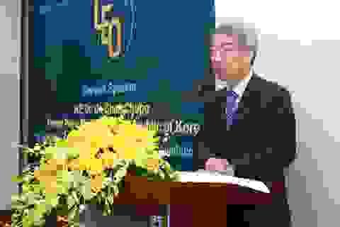 Nguyên Thủ tướng Hàn Quốc: Giáo dục ĐH phải thúc đẩy sáng tạo và tư duy phản biện của sinh viên