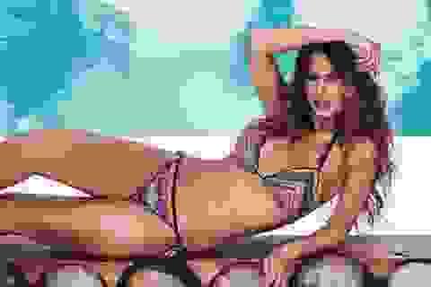 Bạn gái James Rodriguez diện bikini khoe vóc dáng nuột nà, gợi cảm