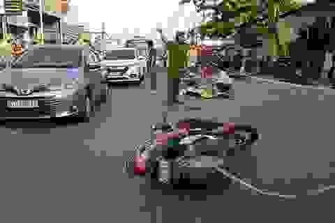 Va chạm xe máy, người đàn ông không đội mũ bảo hiểm tử vong
