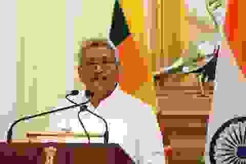 Tổng thống Sri Lanka cảnh giác Trung Quốc, lo ngại thế hệ sau chỉ trích