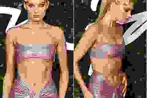 Siêu mẫu Elsa Hosk khoe cơ bụng đáng kinh ngạc