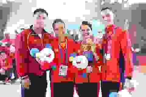 Học trò của vợ chồng kiện tướng Dancesport Hồng Việt đoạt HCV SEA Games
