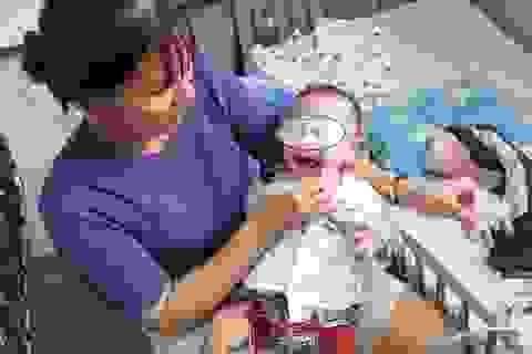 Cứu cháu bé 7 tháng tuổi thoát nguy cơ đột tử