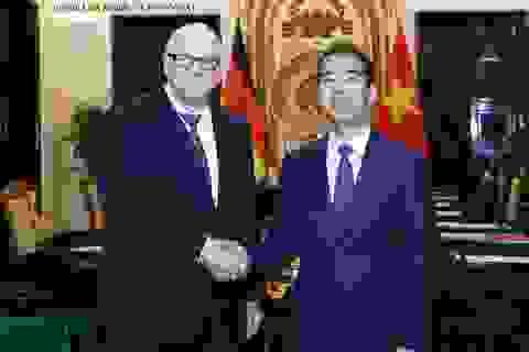 Việt - Đức tăng cường quan hệ đối tác chiến lược