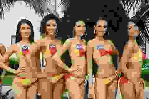 Người đẹp Hoàn vũ Việt Nam nóng bỏng với phần thi hoa hậu biển