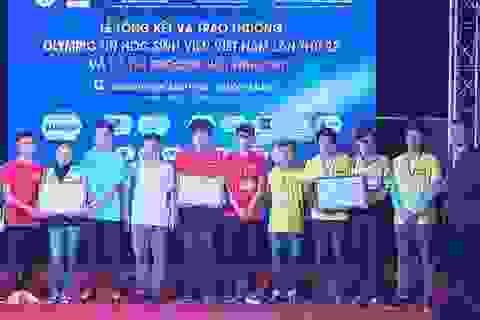 ĐH Bách khoa Đà Nẵng đoạt 2 giải Nhất tại Olympic Tin học toàn quốc