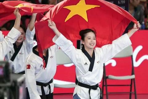 """""""Hot girl làng võ"""" Châu Tuyết Vân lần thứ 4 giành HCV SEA Games"""