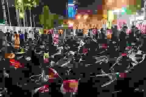 """Tạm giữ hàng trăm xe """"đi bão"""" sau trận U22 Việt Nam đại thắng"""