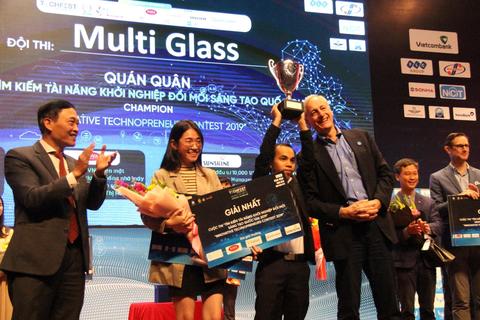 Dự án MultiGlass xuất sắc trở thành Quán quân Cuộc thi tìm kiếm tài năng khởi nghiệp quốc gia 2019
