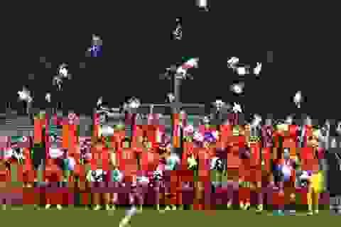 HDBank thưởng nóng 500 triệu đồng cho Đội tuyển Bóng đá nữ Việt Nam