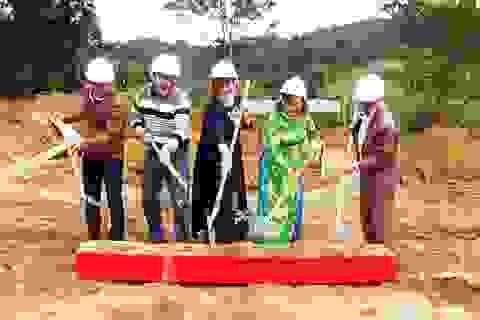 Quảng Trị: Khởi công xây dựng điểm trường mầm non tại xã biên giới
