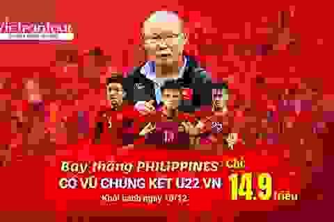 Vietrantour: Cháy tour Manila rinh cúp vàng Sea Games cùng Tuyển Việt Nam