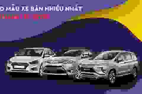 Top 10 mẫu xe bán nhiều nhất tháng 11/2019