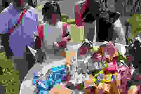 Mỹ: Bà mẹ 6 con phát hơn 100 suất ăn nhanh miễn phí mỗi ngày cho học sinh