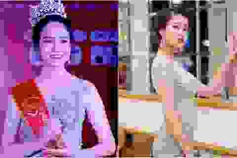 Hoa khôi Sinh viên 2018 trở thành biên tập viên truyền hình