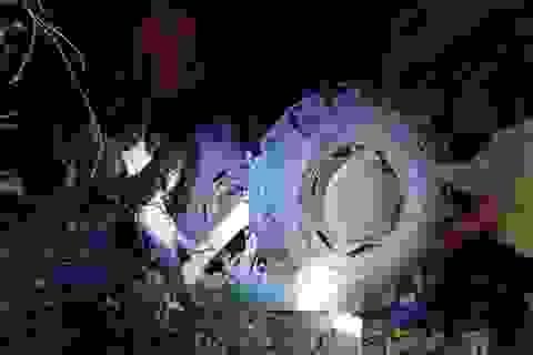 """Lái máy cày """"đi bão"""" chúc mừng U22 Việt Nam, 4 người bị nạn thương vong"""